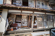 Inside the evacuated zone, Fukushima, Japan