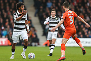 Forest Green Rovers Reuben Reid(26) on the ball during the EFL Sky Bet League 2 match between Luton Town and Forest Green Rovers at Kenilworth Road, Luton, England on 28 April 2018. Picture by Shane Healey.