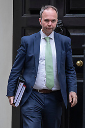 © Licensed to London News Pictures. 24/10/2018. London, UK. 10 Downing Street Chief of Staff Gavin Barwell leaves 11 Downing Street. Photo credit: Rob Pinney/LNP