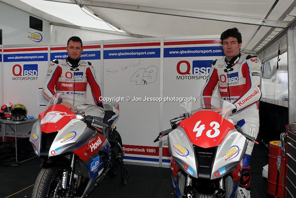 #51 Jamie Poole Quelch Bsd Motorsport Kawasaki.#43 Bryce Van Hoof Quelch BSD Motorsport Kawasaki