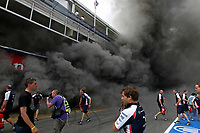 MOTORSPORT - F1 2012 - SPAIN GRAND PRIX / GRAND PRIX D'ESPAGNE - BARCELONA (ESP) - 11 TO 13/05/2012 - PHOTO : FRANÇOIS FLAMAND / DPPI - <br /> WILLIAMS AT&T - AMBIANCE FIRE ACCIDENT