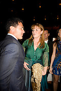 ANDRE BALAZ AND THE DUCHESS OF YORK, The Launch of the Cavalli Selection. 17 Berkeley St. London. 29 May 2008.   *** Local Caption *** -DO NOT ARCHIVE-© Copyright Photograph by Dafydd Jones. 248 Clapham Rd. London SW9 0PZ. Tel 0207 820 0771. www.dafjones.com.