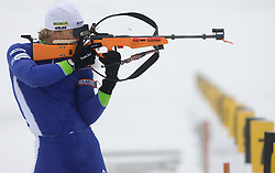 Vid Voncina at training session of Slovenian biathlon team before new season 2009/2010,  on November 16, 2009, in Pokljuka, Slovenia.   (Photo by Vid Ponikvar / Sportida)