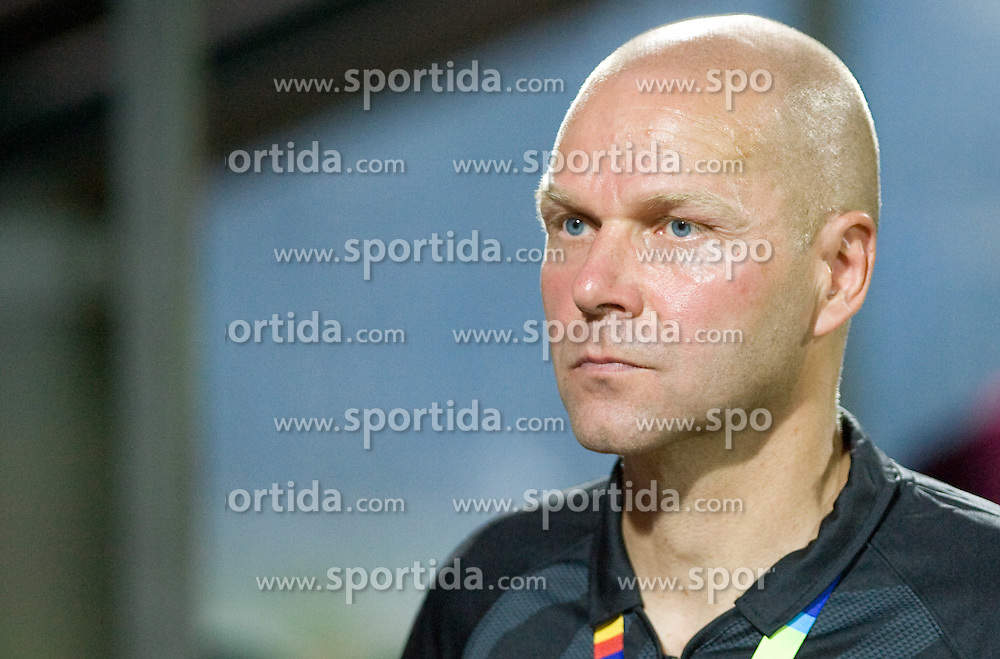 Coach of Lahti Ilkka Makela  at 1st football match of 2nd preliminary Round of UEFA Europe League between ND Gorica and FC Lahti, on July 16 2009, in Nova Gorica, Slovenia. (Photo by Vid Ponikvar / Sportida)