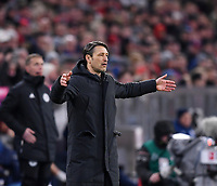 Fussball  1. Bundesliga  Saison 2018/2019  21. Spieltag  FC Bayern Muenchen - FC Schalke 04         09.02.2019 Trainer Niko Kovac (FC Bayern Muenchen) ----DFL regulations prohibit any use of photographs as image sequences and/or quasi-video.----