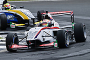 Raoul Hyman, UK, leads Liam Lawson, NZ in Race 2 of the Castrol Toyota Racing Series at Hampton Downs on Saturday January 26 2019. <br /> Copyright photo: Bruce Jenkins / www.photosport.nz