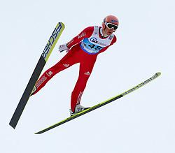 13.02.2013, Vogtland Arena, Kingenthal, GER, FIS Ski Sprung Weltcup, im Bild Severin Freund, Deutschland // during the FIS Skijumping Worldcup at the Vogtland Arena, Kingenthal, Germany on 2013/02/13. EXPA Pictures © 2013, PhotoCredit: EXPA/ Eibner/ Ingo Jensen..***** ATTENTION - OUT OF GER *****