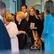 NLD/Amsterdam/20150926 - Afsluiting viering 200 jaar Koninkrijk der Nederlanden, vertrek Maxima