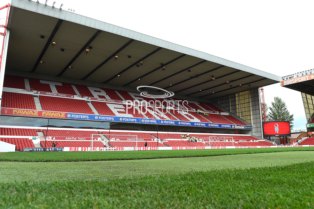 General stadium view during the EFL Sky Bet Championship match between Nottingham Forest and Wigan Athletic at the City Ground, Nottingham, England on 20 August 2016. Photo by Jon Hobley.