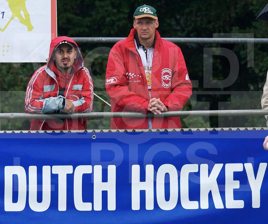 UTRECHT - VOLVO EUROHOCKEY CHAMPIONSHIPS 2011.Belgium vs Germany.Semi-final   3-1.Foto: Jamilon Mulders (coach germany U21)..FFU Press Agency  COPYRIGHT FRANK UIJLENBROEK..