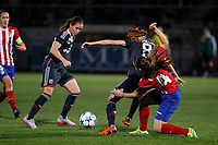 UEFA Women´s Champions League soccer match between Atletico de Madrid and Olympique Lyonnais, in Madrid, Spain. November 11, 2015. (ALTERPHOTOS/Victor Blanco)