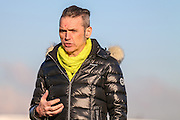 Forest Green Rovers Chairman Dale Vince during the Vanarama National League match between Forest Green Rovers and Braintree Town at the New Lawn, Forest Green, United Kingdom on 21 January 2017. Photo by Shane Healey.