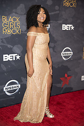 August 6, 2017 - New Jersey, U.S - AUGUSTA UWAMANZU-NNA, at the Black Girls Rock 2017 red carpet. Black Girls Rock 2017 was held at the New Jersey Performing Arts Center in Newark New Jersey. (Credit Image: © Ricky Fitchett via ZUMA Wire)