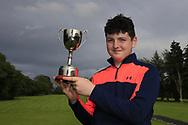 Lucas Lyons (Limerick) winner of the Connacht U14 Boys Amateur Open, Ballinasloe Golf Club, Ballinasloe, Galway,  Ireland. 10/07/2019<br /> Picture: Golffile   Fran Caffrey<br /> <br /> <br /> All photo usage must carry mandatory copyright credit (© Golffile   Fran Caffrey)