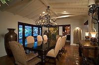 Luxury interior design dinning room