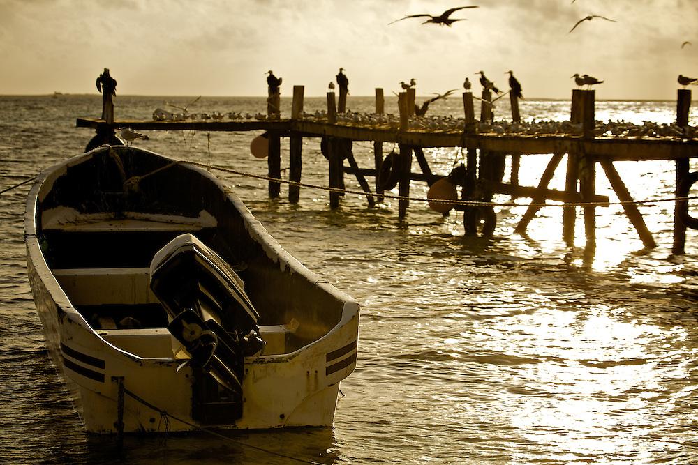 Dock @ Alacranes Island