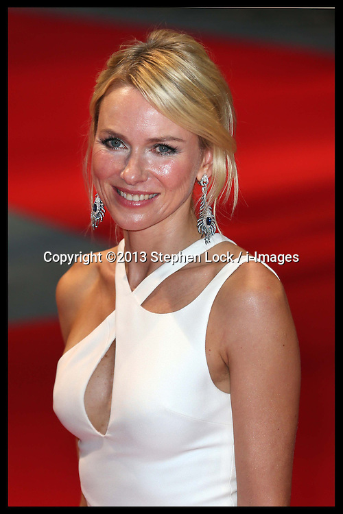 Naomi Watts arriving for the world premiere of Diana, in London, Thursday, 5th September 2013. Picture by Stephen Lock / i-Images