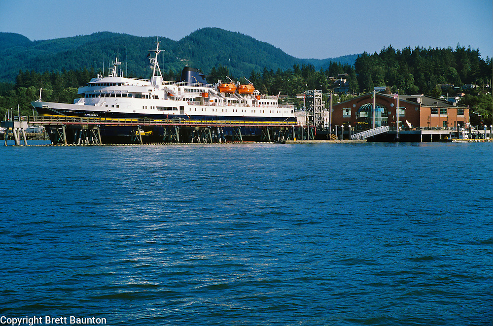 Alaska State Ferry, Home Port, Bellingham, Washington State