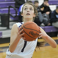 1.15.2014 Clearview at Keystone Girls Varsity Basketball