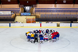 at practice of Slovenian Women National Ice Hockey Team for World Championship Division II Group B in Iceland on March 20, 2014 in Ledna dvorana, Bled, Slovenia. Photo by Matic Klansek Velej / Sportida