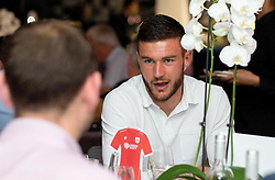Richard O'Donnell of Bristol City mingles with guests during the Lansdown Club event - Mandatory by-line: Robbie Stephenson/JMP - 06/09/2016 - GENERAL SPORT - Ashton Gate - Bristol, England - Lansdown Club -