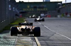 March 25, 2018 - Melbourne, Victoria, Australia - Motorsports: FIA Formula One World Championship 2018, Melbourne, Victoria : Motorsports: Formula 1 2018 Rolex  Australian Grand Prix,   #14 Fernando Alonso (ESP, McLaren-Renault) (Credit Image: © Hoch Zwei via ZUMA Wire)