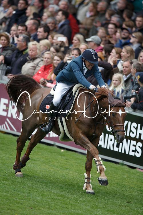 Delestre Simon, (FRA), Ryan Des Hayettes <br /> Rolex Grand Prix, The Grand Prix of Aachen<br /> Weltfest des Pferdesports Aachen 2015<br /> © Hippo Foto - Dirk Caremans<br /> 31/05/15