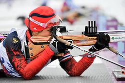 ABDIKARIMOVA Akzhana, Biathlon at the 2014 Sochi Winter Paralympic Games, Russia