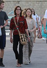 Princess Caroline of Monaco out with Alexandra - 18 July 2018