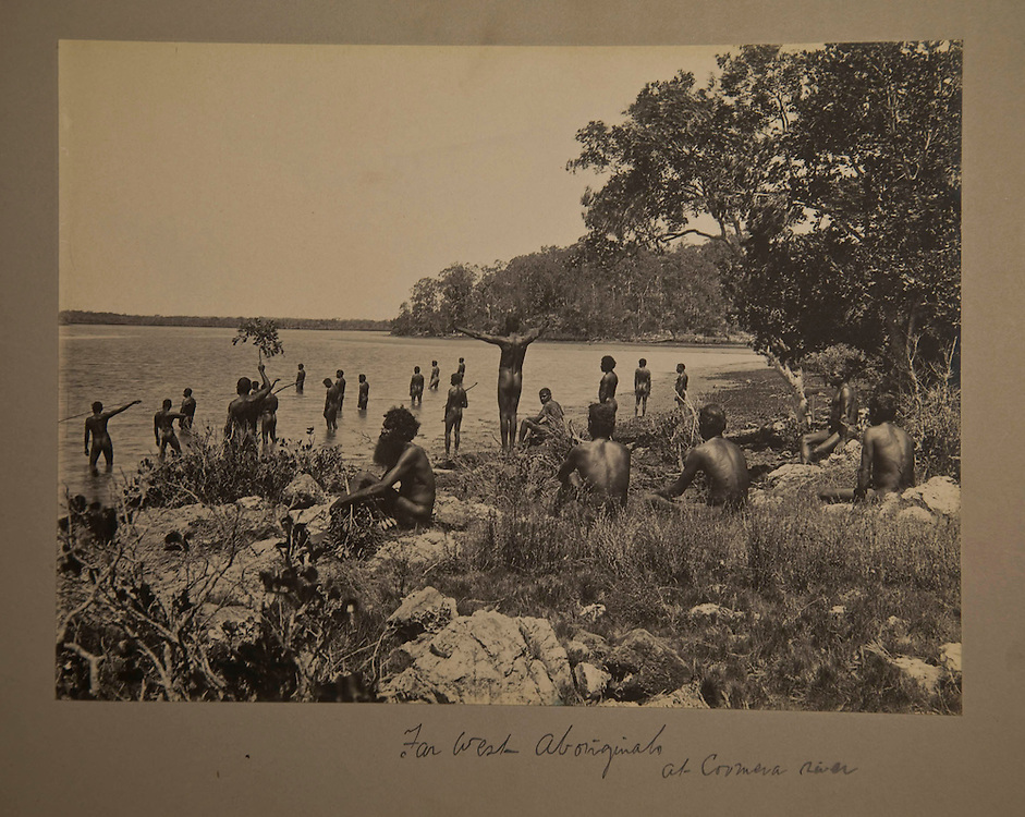 Repatriation of aboriginal remains from Europe and the U.S. to back to Australia story. Photographs from a album by Alexander Meston.