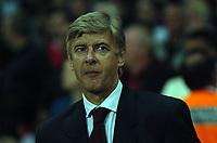 Photo: Tony Oudot.<br /> Arsenal v Sparta Prague. UEFA Champions League Qualifying. 29/08/2007.<br /> Arsene Wenger of Arsenal