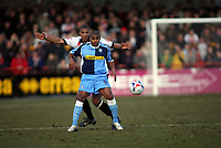 GavinCaines at rear for Cheltenham and Jermaine Easter for Wycombe clash<br /> <br /> Photo: Richard Eaton.<br /> <br /> Cheltenham Town v Wycombe Wanderers. Coca Cola League 2. 04/03/2006.