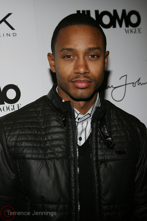 """Terrence J at the cocktail party celebrating Sean """"Diddy"""" Combs appearance on the """" Black on Black """" cover of L'Uomo Vogue's October Music Issue"""
