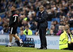 Brighton & Hove Albion Manager Chris Hughton - Mandatory byline: Robbie Stephenson/JMP - 07966 386802 - 07/11/2015 - FOOTBALL - Falmer Stadium - Brighton, England - Brighton v MK Dons - Sky Bet Championship