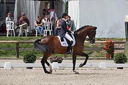 Verwimp Jorinde, (BEL), Tiamo<br /> Belgium Championship Dressage - Hulsterlo Meerdonk 2015<br /> © Hippo Foto - Dirk Caremans<br /> 31/07/15