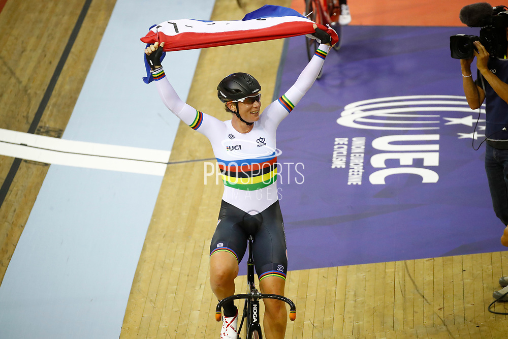 Women Omnium, Kirsten Wild (Netherlands), during the Track Cycling European Championships Glasgow 2018, at Sir Chris Hoy Velodrome, in Glasgow, Great Britain, Day 5, on August 6, 2018 - Photo luca Bettini / BettiniPhoto / ProSportsImages / DPPI<br /> - Restriction / Netherlands out, Belgium out, Spain out, Italy out -