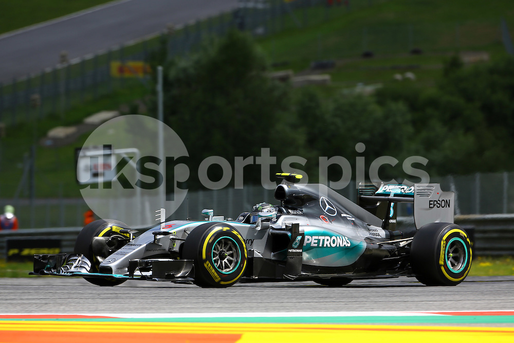 Nico Rosberg during the Formula 1 Grand Prix of Austria at  at Red Bull Ring, Spielberg, Austria on 21 June 2015. Photo by Marco Canoniero / sync.