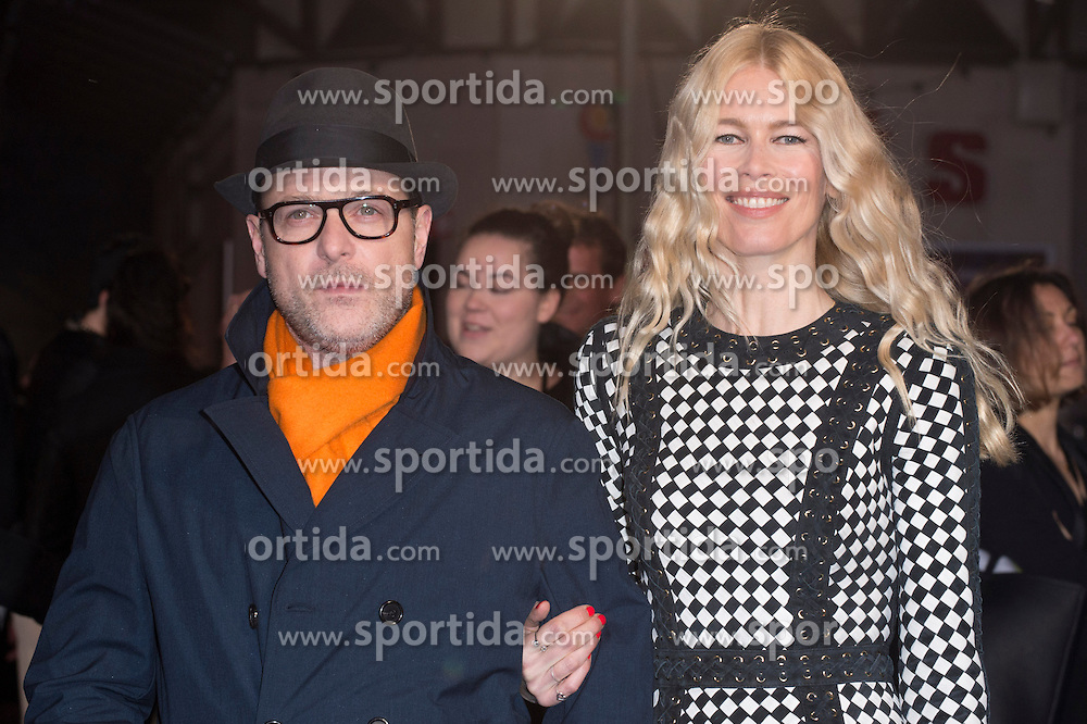 Matthew Vaughn and Claudia Schiffer attends the European premiere for &quot;Eddie the Eagle at Odeon Leicester Square in London, 17.03.2016. EXPA Pictures &copy; 2016, PhotoCredit: EXPA/ Photoshot/ Euan Cherry<br /> <br /> *****ATTENTION - for AUT, SLO, CRO, SRB, BIH, MAZ, SUI only*****