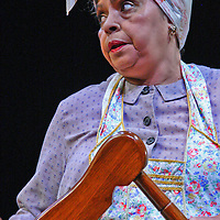 Lynda Gravatt as Lena Younger during the Chautauqua Theater perfromance of Raisin in the Sun during July 2014 in Bratton Theater of the Chautauqua Institution photo by Mark L. Anderson