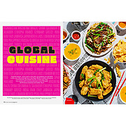 Magazine Feature story on global cuisine and restaurants in San Diego, California