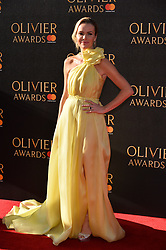 © Licensed to London News Pictures. 09/04/2017. AMANDA HOLDEN attends The Olivier Awards held at the Royal Albert Hall. London, UK. Photo credit: Ray Tang/LNP