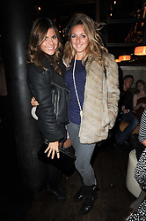 Left to right, ZOE HARDMAN and NATASHA CORRETT at a party to celebrate the 10th anniversary of the Myla lingerie brand held at Almada, 17 Berkeley Street, London on 17th November 2010.
