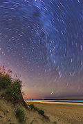 Stars at Corolla Beach Outer Banks NC.