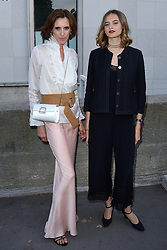 Ines de La Fressange and her daughter Violette d'Urso attending the Gabrielle Chanel fragrance launch party 2017/18 Fall Winter Haute Couture show in Paris, France on July 04, 2017. Photo by Aurore Marechal/ABACAPRESS.COM