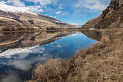 Central Otago, lake, New Zealand