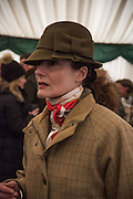 CAROLE PENDLE, , The Heythrop Hunt Point to Point. Cocklebarrow. 24 January 2016