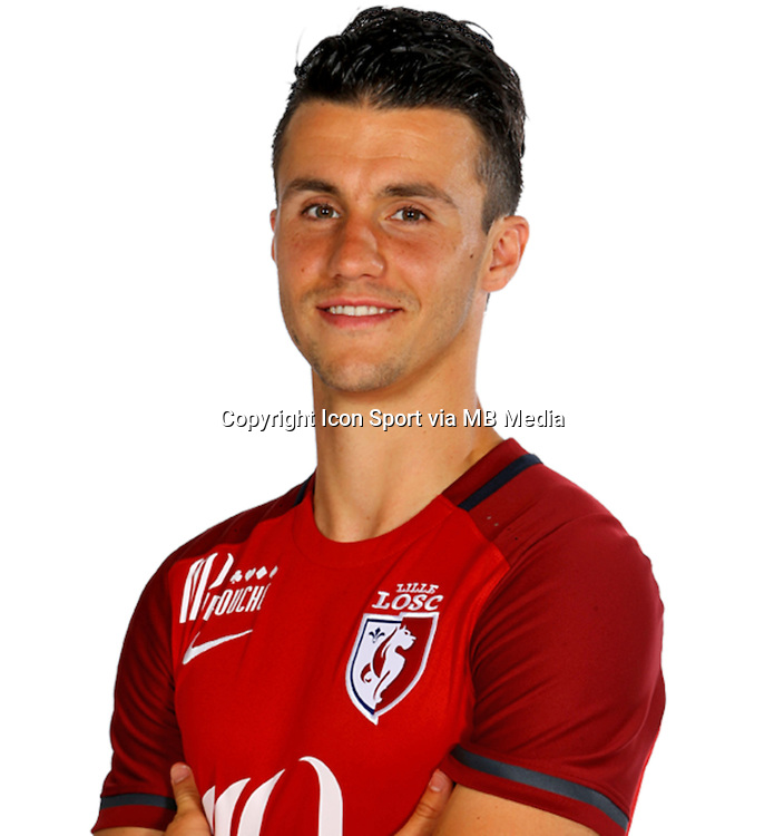 Sebastien CORCHIA - 15.09.2015 - Photo officielle Lille - Ligue 1<br /> Photo : Losc / Icon Sport