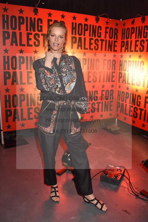 "Eva Herzigova at ""Hoping For Palestine"" Benefit Concert For Palestinian Refugee Children held at The Roundhouse, Chalk Farm Road, England. 04 June 2018."