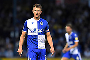 Ollie Clarke (8) of Bristol Rovers during the EFL Cup match between Bristol Rovers and Brighton and Hove Albion at the Memorial Stadium, Bristol, England on 27 August 2019.