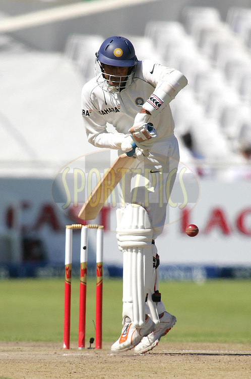 WESTERN CAPE, SOUTH AFRICA - 5th January 2007, Anil Kumble during day 4 of the third test between South Africa and India held at Newlands Stadium, Cape Town...Photo by RG/Sportzpics.net..